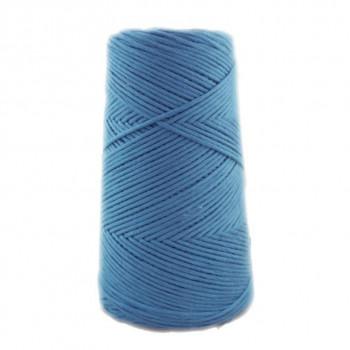 Algodón peinado XL azul acero