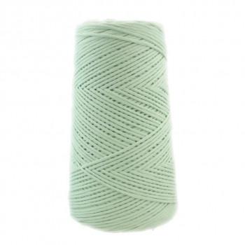 Algodón peinado XL verde agua