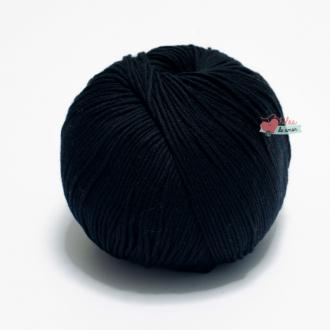 Algodón Pima - Negro