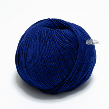 Algodón Pima - Azul Marino