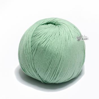Algodón Pima - Verde agua