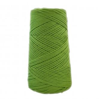 Algodón peinado M verde hierba