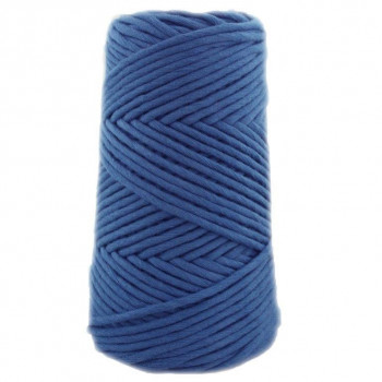 Algodón peinado 3XL azul jean