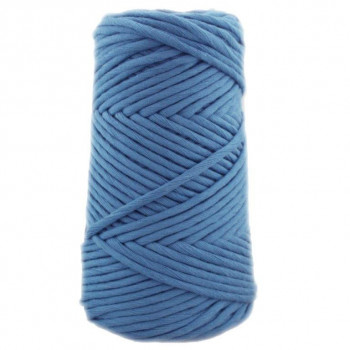Algodón peinado 3XL azul acero