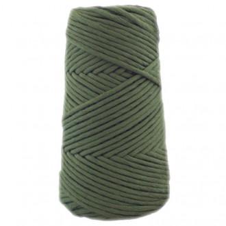 Algodón peinado 3XL verde botella