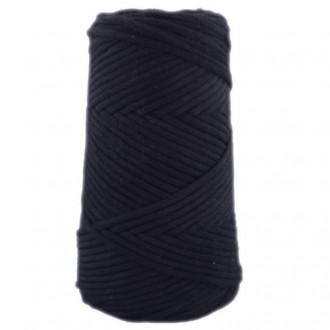 Algodón peinado 3XL negro