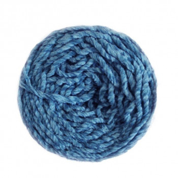 Terciopelo 6 cabos azul