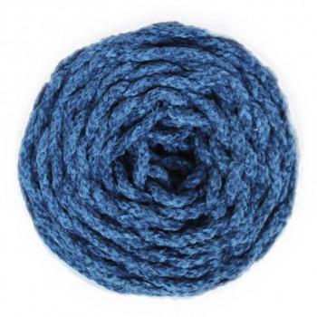 Terciopelo trenzado azul