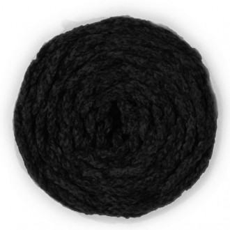 Terciopelo trenzado negro
