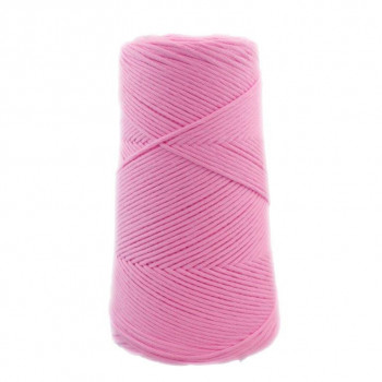 Algodón peinado M rosa blush