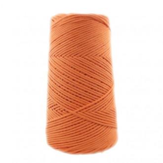 Algodón peinado M naranja