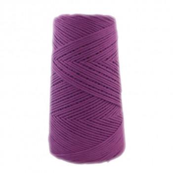 Algodón peinado M violeta