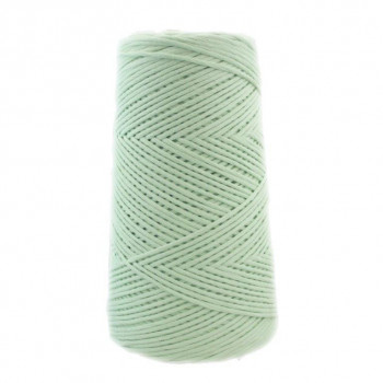 Algodón peinado M verde agua