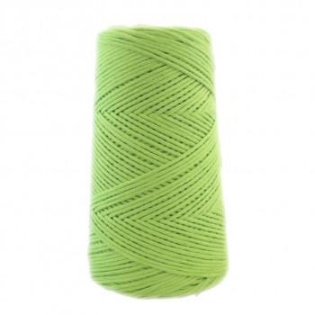 Algodón peinado L verde kiwi