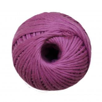 Ovillo de algodón peinado XL - Violeta