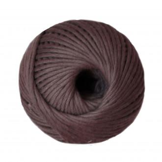 Ovillo de algodón peinado XL - Gris
