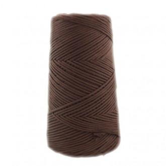 Algodón peinado L marrón choco